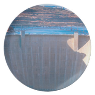 Glen Canyon Dam on the Colorado River at Page, Dinner Plate