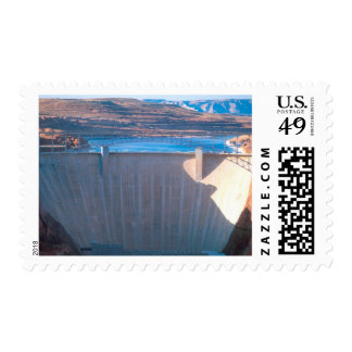 Glen Canyon Dam on the Colorado River at Page, Postage