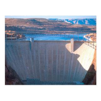 Glen Canyon Dam on the Colorado River at Page, Postcard