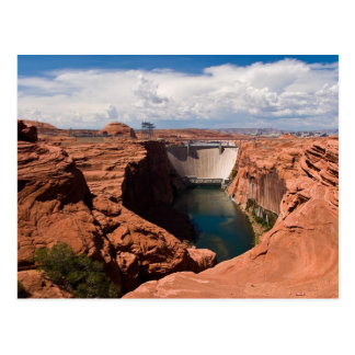 Glen Canyon Dam Postcard