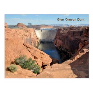 Glen Canyon Dam Postcard