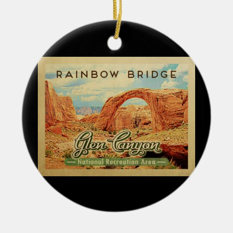Glen Canyon National Recreation Area Vintage Ceramic Ornament
