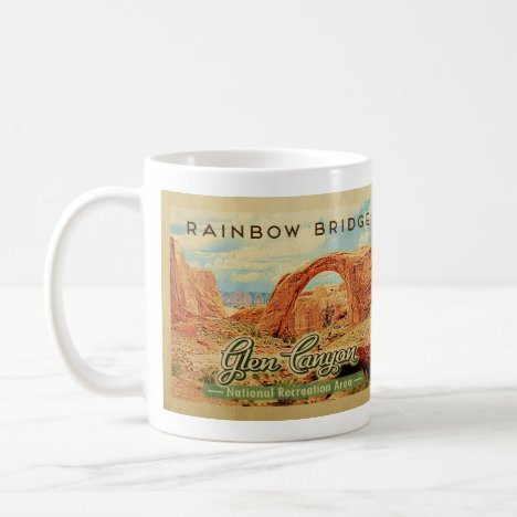 Glen Canyon National Recreation Vintage Travel Coffee Mug