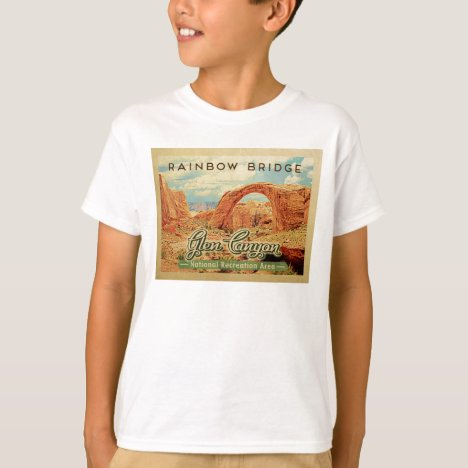 Glen Canyon National Recreation Vintage Travel T-Shirt