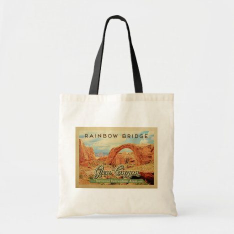 Glen Canyon National Recreation Vintage Travel Tote Bag