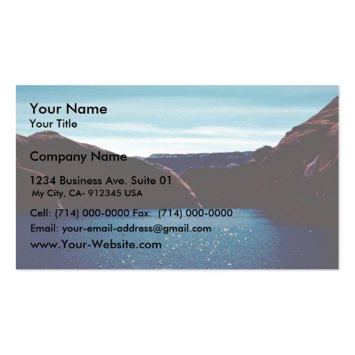 Glen Canyon Tarjetas De Visita