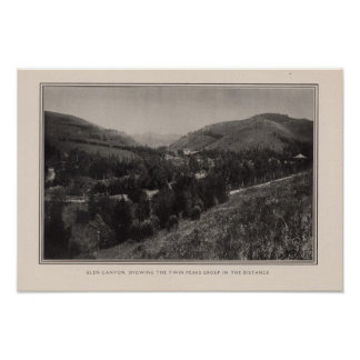 Glen Canyon, Twin Peaks, San Francisco Posters