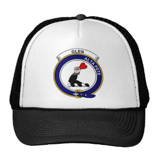 Glen  Clan Badge Mesh Hat