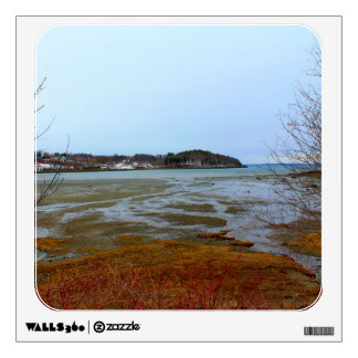 Glen Cove Harbor in Rockport, Maine Wall Decal