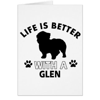 Glen designs card