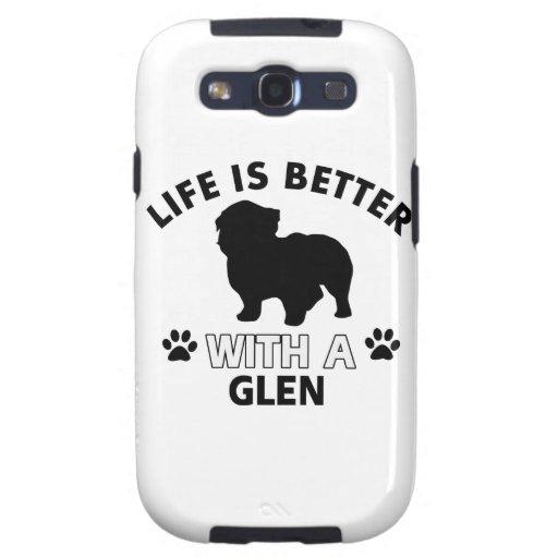 Glen designs galaxy SIII covers