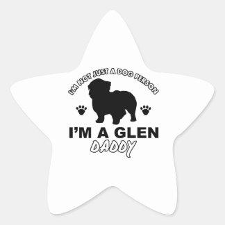 Glen Dog Daddy Star Sticker