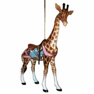 Glen Echo Carousel Giraffe Photo Sculpture