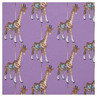 Glen Echo Giraffe - Purple Fabric