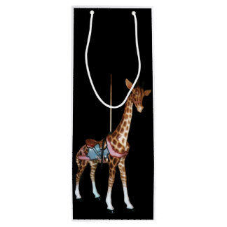 Glen Echo Giraffe Wine Gift Bag