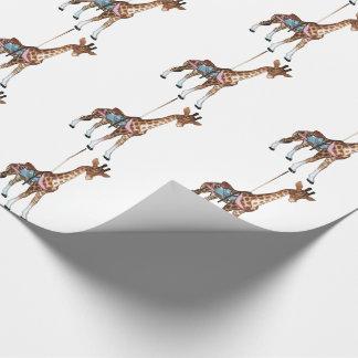Glen Echo Giraffe Wrapping Paper