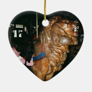 Glen Echo Lion Ceramic Ornament
