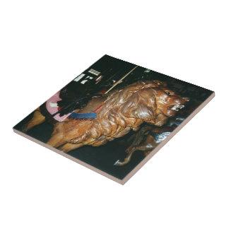 Glen Echo Lion Ceramic Tile