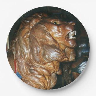 Glen Echo Lion Paper Plate