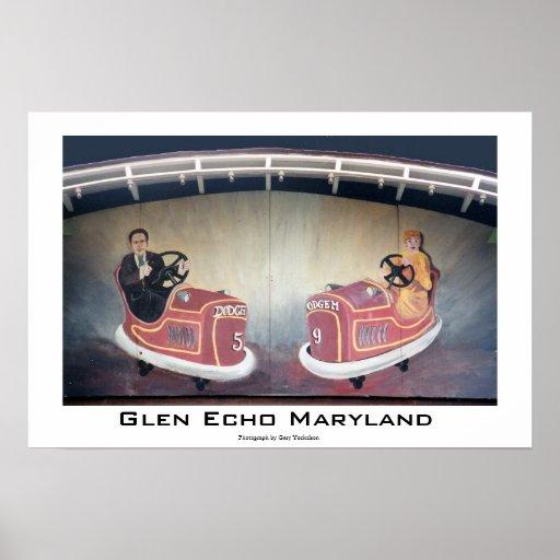 Glen Echo Maryland Poster