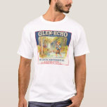 Glen-Echo Vintage Food Crate Label T-Shirt