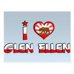 Glen Ellen, CA Postcard