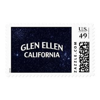 Glen Ellen California Stamp