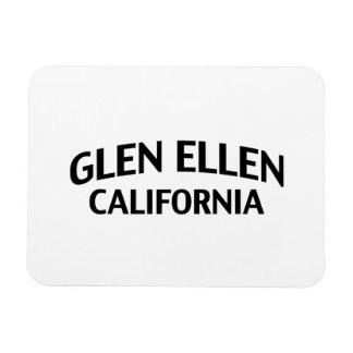 Glen Ellen California Rectangular Photo Magnet