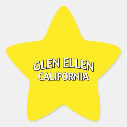 Glen Ellen California Star Sticker