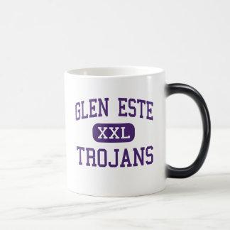 Glen Este - Trojans - High - Cincinnati Ohio 11 Oz Magic Heat Color-Changing Coffee Mug
