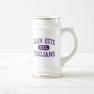 Glen Este - Trojans - High - Cincinnati Ohio 18 Oz Beer Stein