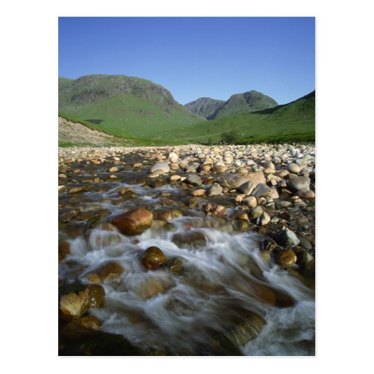 Glen Etive, Highlands, Scotland 2 Postcard