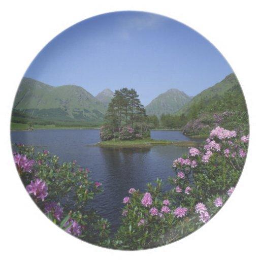 Glen Etive, Highlands, Scotland Plates