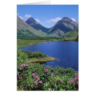 Glen Etive Scotland Greeting Card