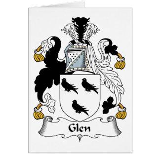 Glen Family Crest Cards