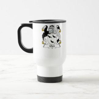 Glen Family Crest Travel Mug