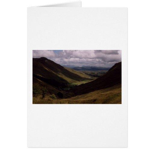 Glen Gesh, County Donegal,Ireland Greeting Card