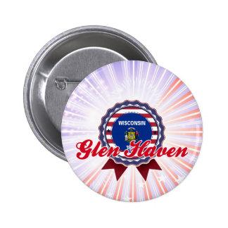 Glen Haven, WI Pinback Button