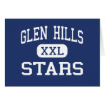 Glen Hills Stars Middle Glendale Wisconsin Card