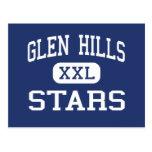 Glen Hills Stars Middle Glendale Wisconsin Postcard
