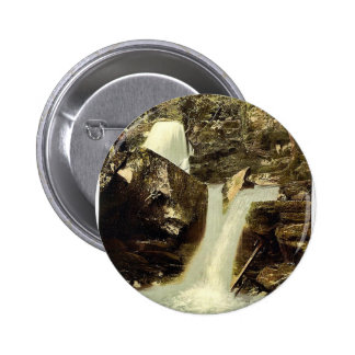 Glen Lyn., the upper falls, Lynton and Lynmouth, E Pinback Button
