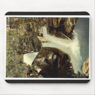 Glen Lyn., the upper falls, Lynton and Lynmouth, E Mouse Pad