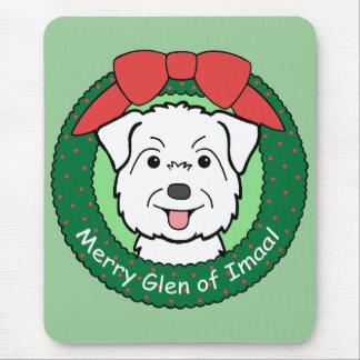 Glen of Imaal Christmas Mouse Pad