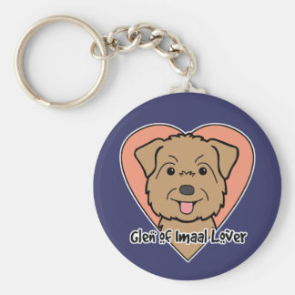 Glen of Imaal Lover Basic Round Button Keychain