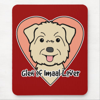 Glen of Imaal Lover Mouse Pad