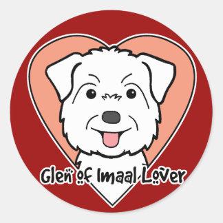Glen of Imaal Lover Round Sticker