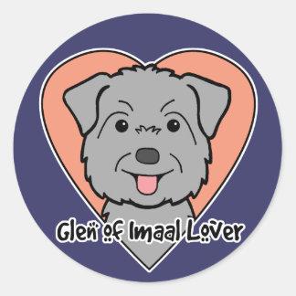 Glen of Imaal Lover Round Stickers