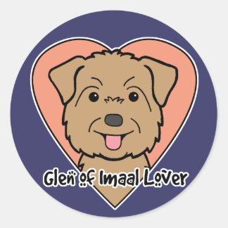Glen of Imaal Lover Classic Round Sticker