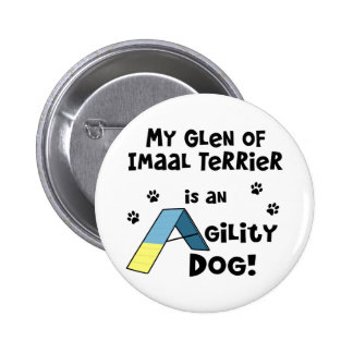 Glen of Imaal Terrier Agility Dog Pinback Buttons