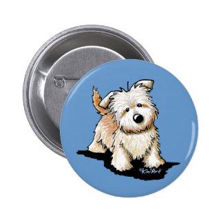 Glen Of Imaal Terrier Pinback Button